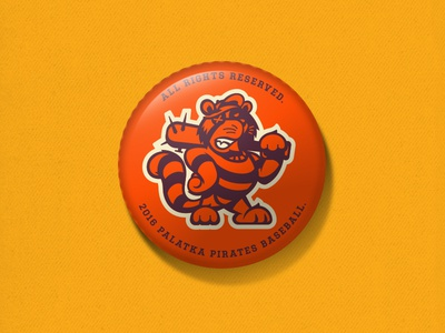 Inch x inch II baseball platka pirates one inch wonders buttons inch x inch