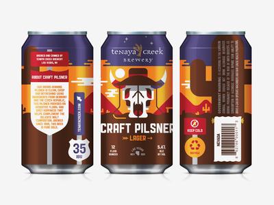 Beer Can III shepherd packaging pilsner lager tenaya creek beer can craft beer