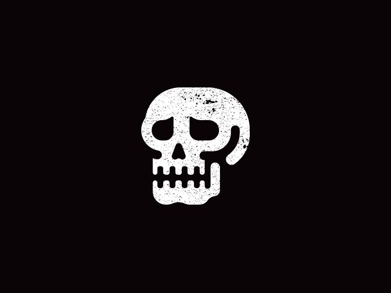 Skull halloween illustration skull