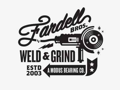 Type jack fardell illustration apparel skateboarding modus bearings type