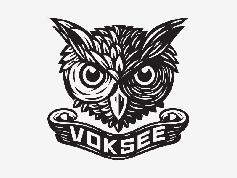 Voksee illustration owl kendrickkidd