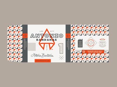 Packaging design branding bandana belly band packaging