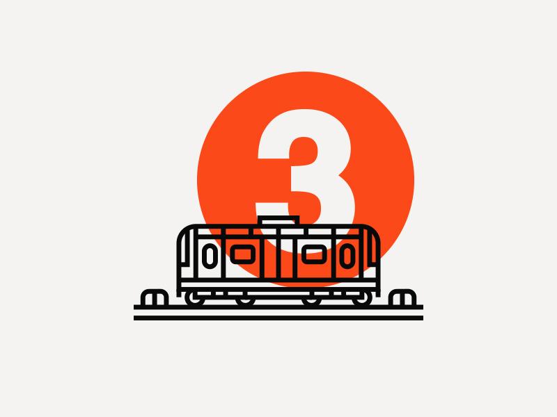 Illustration illustration subway train city