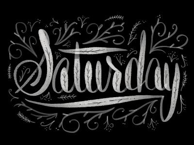 Lettering procreate saturday lettering