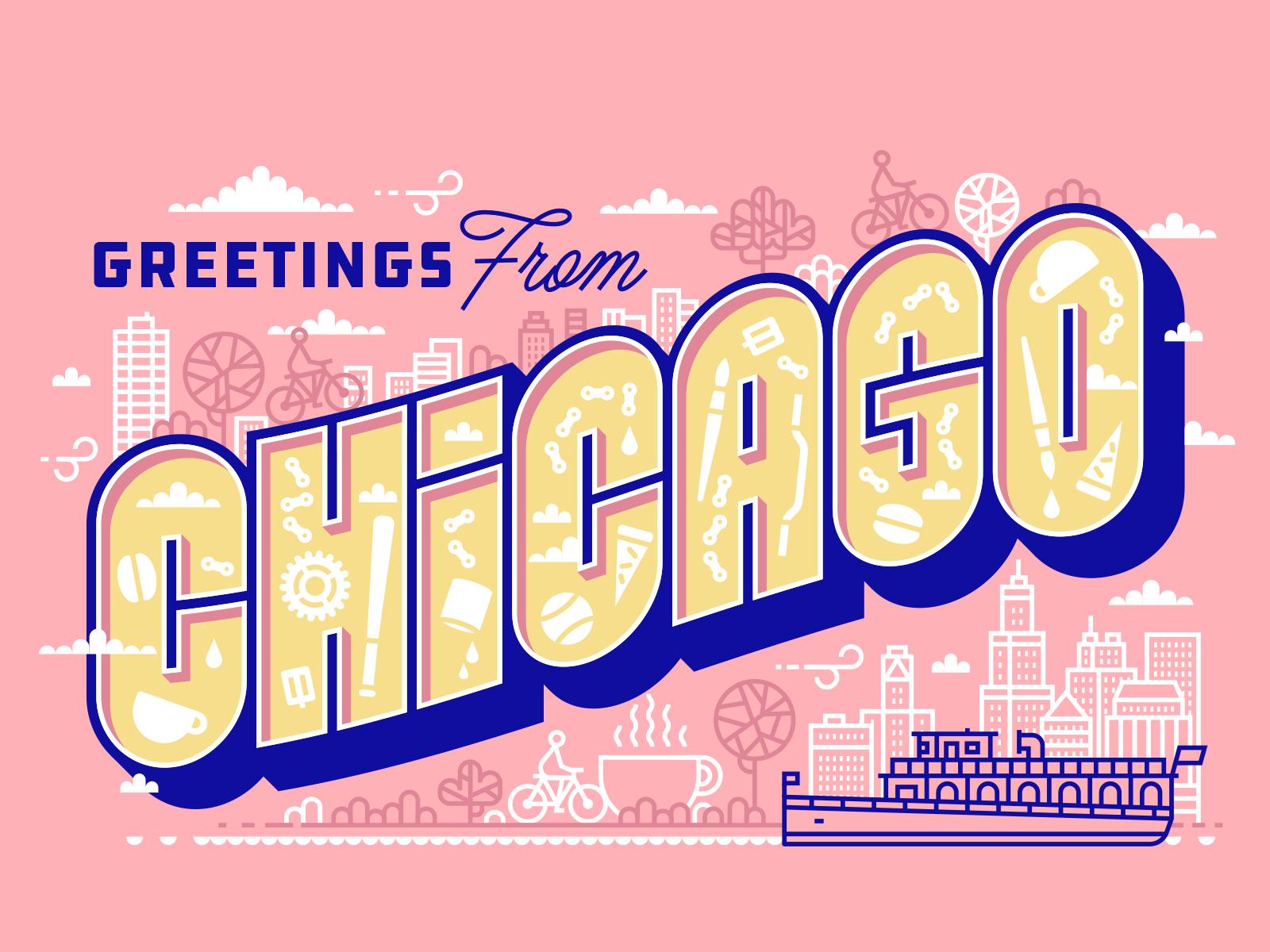 Chicago rightwaysigns lettering kendrickkidd