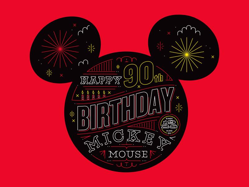 Illustration arthouse mickey mouse disney