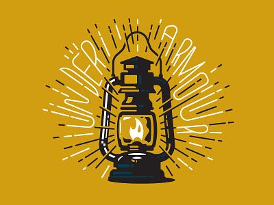 Illustration II outdoors lantern illustraion