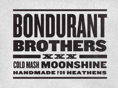 Type type moonshine discovery channel bondurant brothers