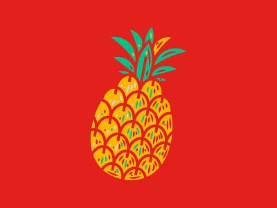 Illustration II reve pineapple illustration