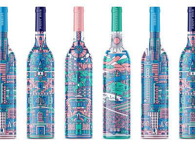 Wine Packaging winery pinot noir chardonnay zinfandel merlot shepherd bottle packaging wine