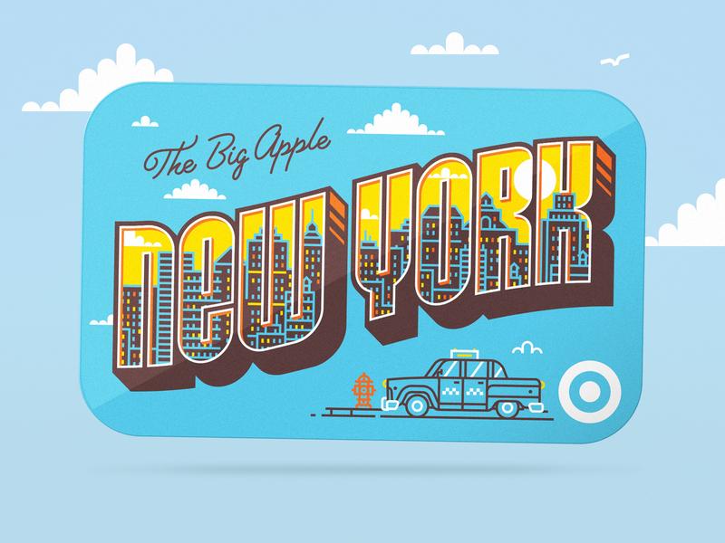 Illustration illustration new york gift card target