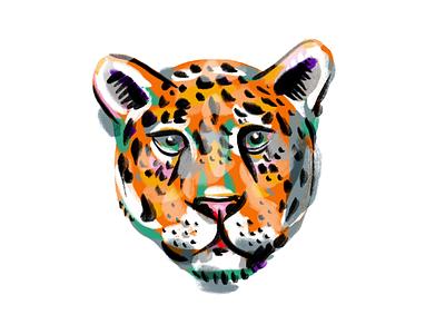 Illustration practice procreate illustration jaguar
