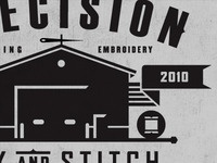 Precision Ink and Stitch III
