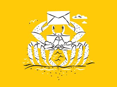 Illustration illustration crab