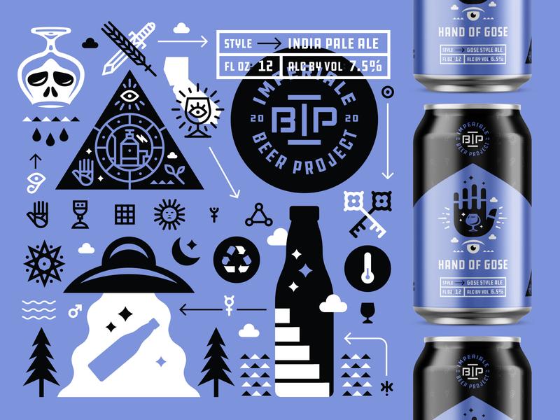 Packaging imperiale beer project beer packaging