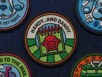 Patch II illustration brand book nickelodeon blues clues patch