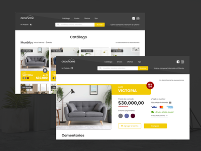 Daily UI 12 | E-Commerce Shop dailychallenge challenge interfacedesign website webdesig web uidesign ecommerce design ecommerce