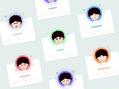 EMOJI emoji boys character icon ui sketch illustrator flat