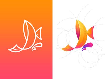 Fish Logo sketch logo illustrator fish