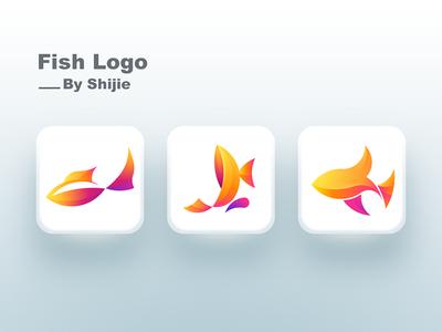 Fish  Logo illustrator sketch logo fish