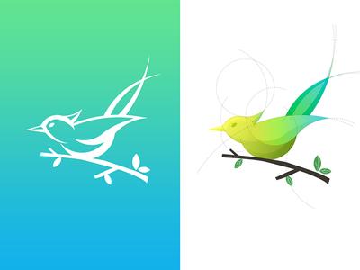 Bird Logo bird sketch logo illustrator