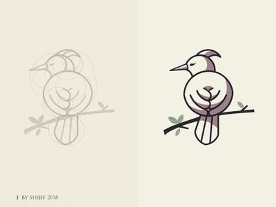 Bird Logo sketch logo illustrator bird