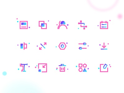 icons gradient donwload user setting illustrator app icon flat sketch