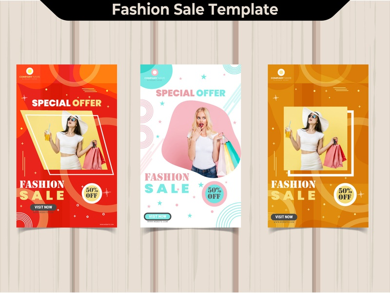 Fashion sale social media banner brochure design brand identity design promotion office flyer corporate flyer business logo branding agency design