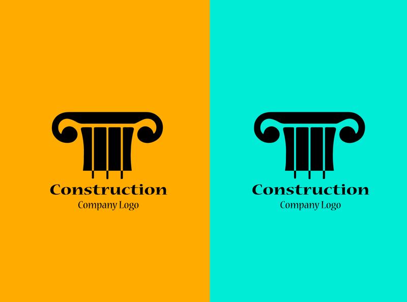 construction company logo business card design brochure design brand identity design promotion office flyer corporate flyer business logo branding agency design