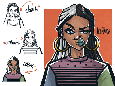 Character Design sticker art stickers street style emotion game illustration original character animation illustration portrait character design character