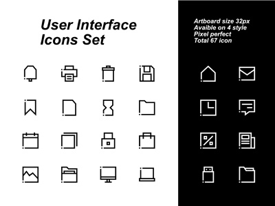 User interface icons set website web vector ux ui mobile minimal logo ipad interface illustrator illustration icon graphic design flat design clean branding art app
