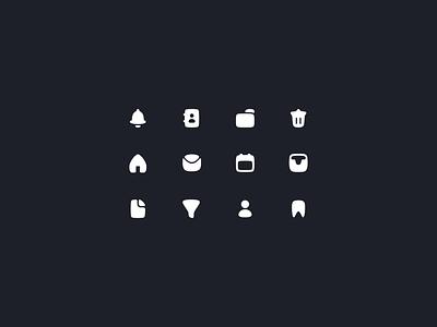User interface icons set website web vector ux ui mobile minimal ipad interface logo illustrator illustration icon graphic design flat design clean branding art app