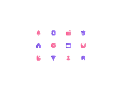 User interface icon set illustrator website vector minimal logo illustration icon graphic design flat design branding app