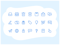 Icon Set for MailTime