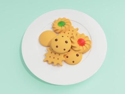 cookies 2 fusion360 cookies food illustration 3d modeling 3d illustration digital art 3d art
