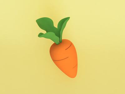 carrot carrot food food illustration illustration fusion360 digital 3d modeling 3d illustration 3d art