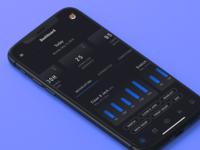 Fitness App - Dashboard