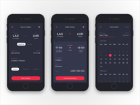 Booking Flight UI