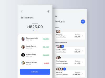 Split expenses app