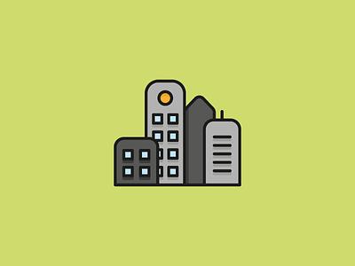 City Icon - Travel Set free download skyscraper building vector illustration flat world explore travel icon city
