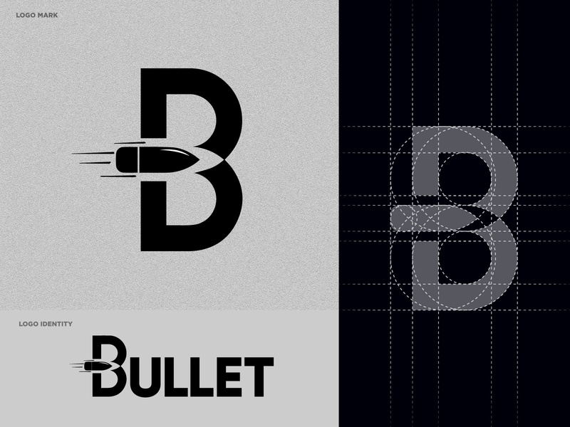 Modern Bullet Logo Concept | Brand Identity flat bullet logo bullet logo design modern bullet logo vector identity branding logo challenge logo concept powerful concept flat design adobe illustrator top brand design black modern bullet logo modern logo brand identity clean abstract bullets bullet