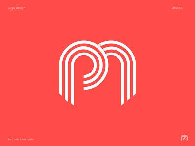 P M  modern letter logo design creative modern p m letter typography art graphic design design logo lettering branding flat icon mobile illustration m letter p letter modern minimal app monogram