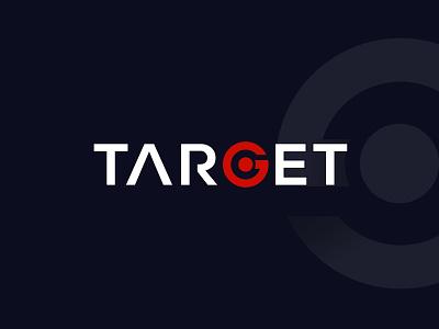 TARGET Typography branding iocn flat illustration font wordmark lettering typeface typography target audience target logotype designs logo