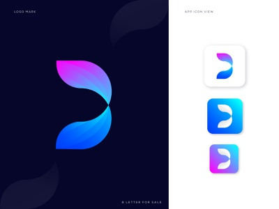 B Abstract letter logo design (Sold out) o p q r s t u v w x y z a b c d e f g h i j k l m n abstract art android app icon ios modernism best logo designer clean brand identity brand creative flat iocn app b for sale modern b logo b monogram abstract logo abstract