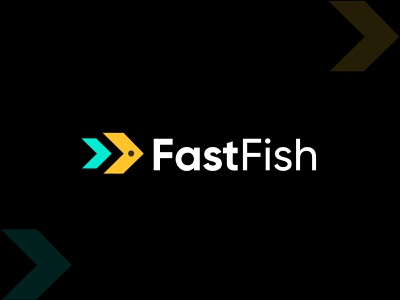 arrow+fish, branding logo for fastfish, modern logo design adobe illustrator logo design branding logo and branding companylogo bussiness logo abstract typography 2021 trend modern logo technology logo ui web agency branding brandign logo power speed fast arrow fish