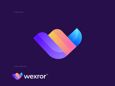W Letter | Modern, Gradient, Abstract, Colorful 'W' Logo design o p q r s t u v w x y z a b c d e f g h i j k l m n logo design trends 2021 software logo logo creation logo logo designer app icon logo branding and identity branding vector creative colorful abstract gradient modern logo design w letter logo w logo