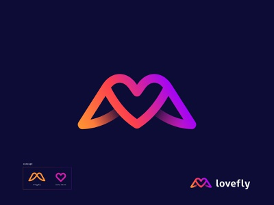 Wing + Love Logo (for slae) o p q r s t u v w x y z a b c d e f g h i j k l m n minimal logotype logomark colorful logo concept symbol icon branding logocreation logomaker logoideas logodesigns simple clean creative logo maker wing wings identity branding vector heart icon love lovestory modern logo gradient logo fly beak feather hawk falcon