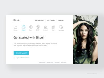 Bitcoin Sign up