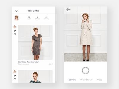 Fashion Social App Exploration