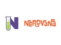 Nerdvana logo concept